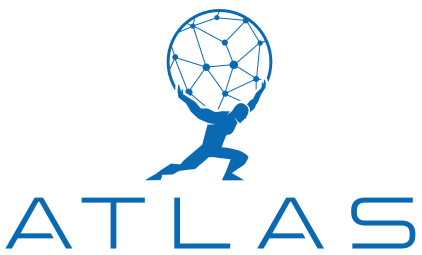 ATLAS logo vertical white background